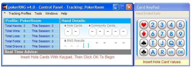Poker RNG
