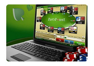 Party Poker Laptop Computer