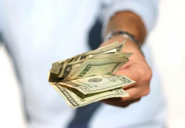Giving Money Away