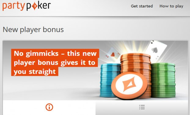 Party Poker - New Bonus