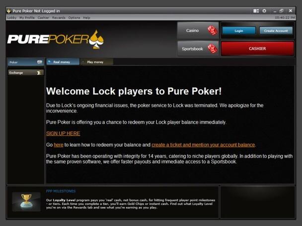 Pure Poker - Lock Poker