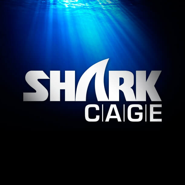The Shark Cage logo