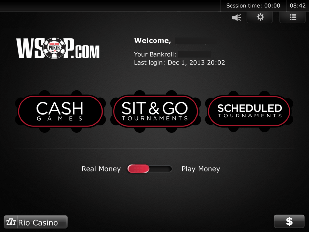 WSOP - iPad App New Jersey